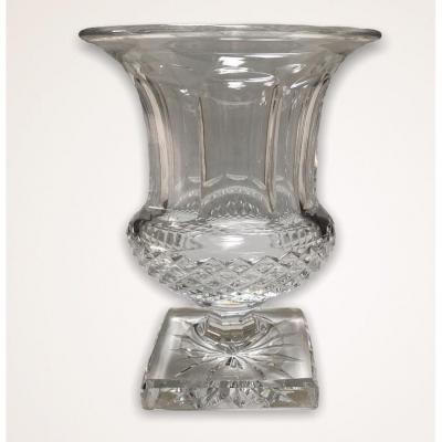 Vase Versaille  En Cristal Saint Louis