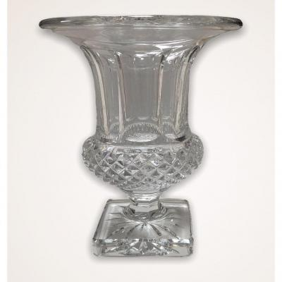 Vase Modèle Versailles En Cristal Saint Louis