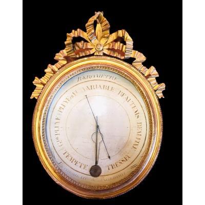 Baromètre Et Thermomètre Reaumur époque Louis XVI