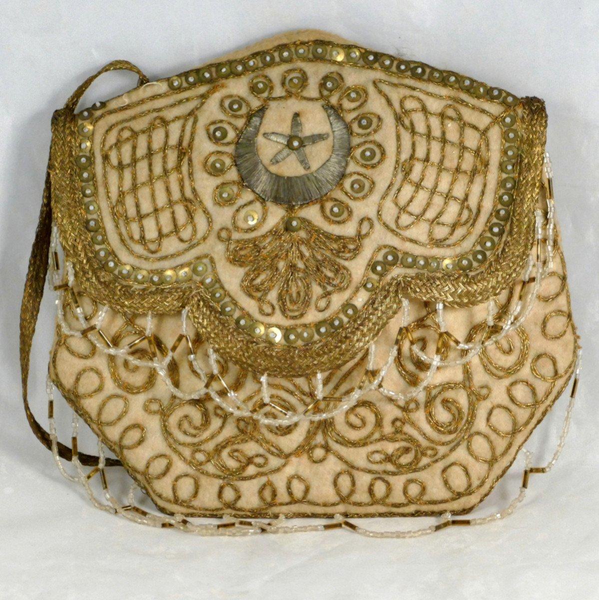 Reticule, Small Handbag, Ottoman, Orientalist, XIXth.