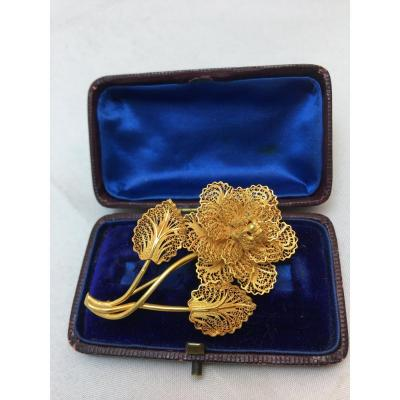 Broche Or 18ct