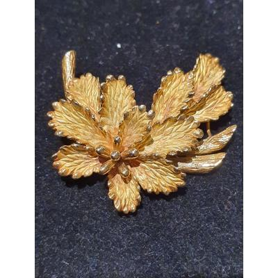 broche en or 18ct .