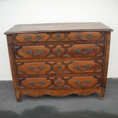 18th Century Walnut Chest Of Drawers Known As
