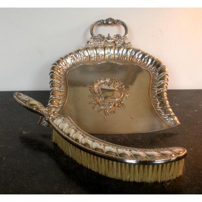 Wmf Silver Metal Crumb Tray