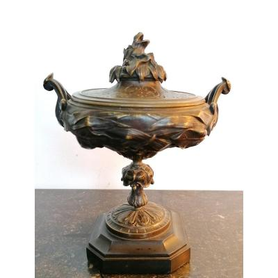 Bronze Covered Cup