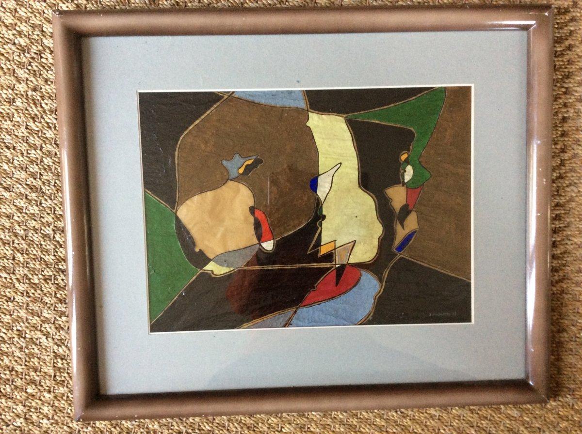Composition Abstraite James Pichette