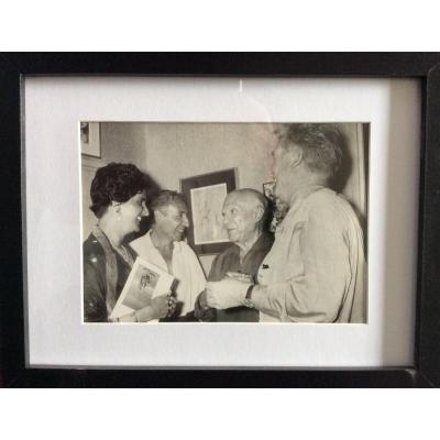 Picasso And Suzanne RamiÉ Ceramist