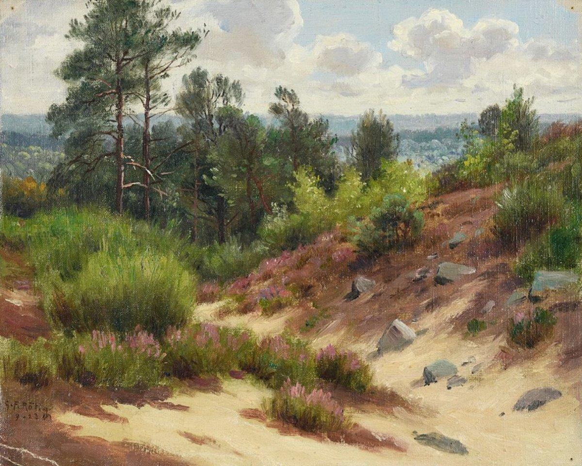 Georges Frédéric Rotig, Landscape