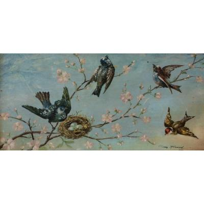 Firmin Bouisset, The Birds In Spring