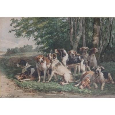 Jules Bertrand Gélibert, Dog Relay