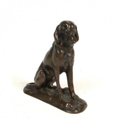 Alfred Jacquemart, Hunting Dog