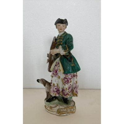 Hunter, German Porcelain