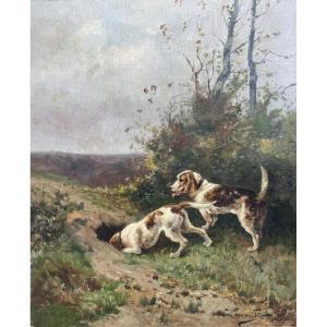 Edouard Lemaitre, Hunting Dogs