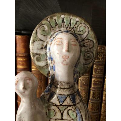 Jean Derval Vierge à L'enfant