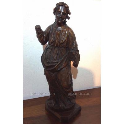 Sculpture Saint Jean Baptiste - XVIe