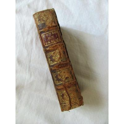 Pensées de monsieur Pascal  - Edité à Lyon chez Roux et Chize - 1687