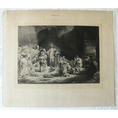 La Pièce Aux 100 Florins - d'Après Rembrandt
