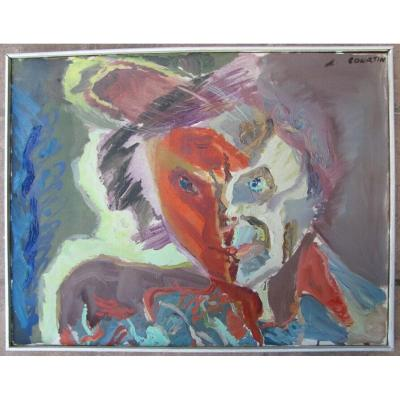 Hst - Paul Courtin - Autoportrait