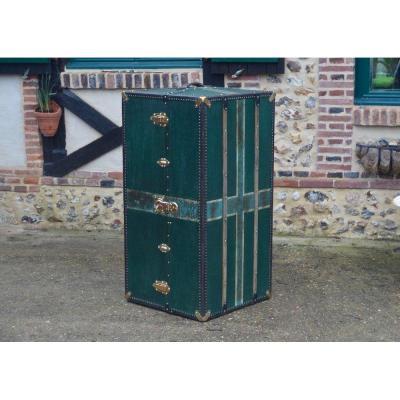 Travel Wardrobe Antique Trunk