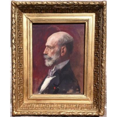 Benjamin-Constant (1845-1902), Portrait d'homme
