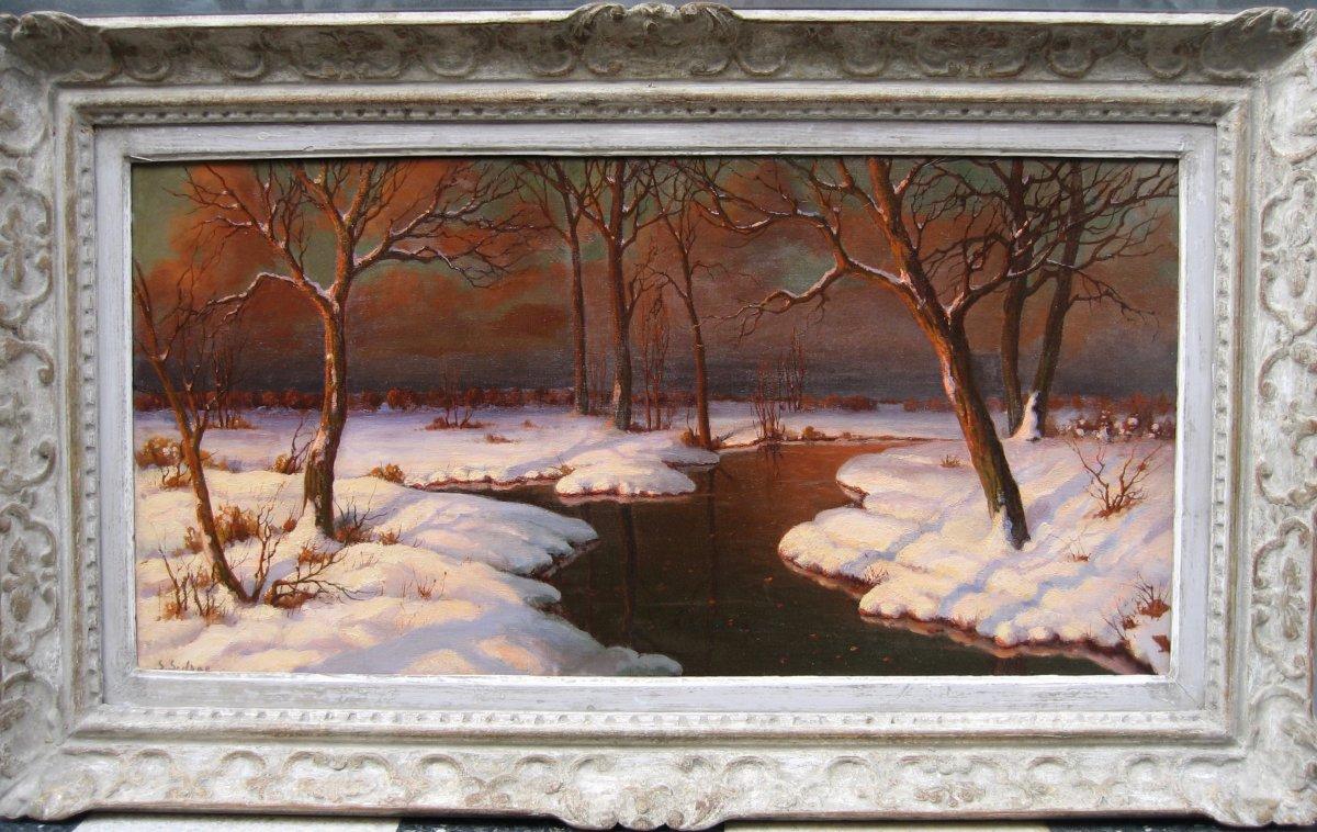 A Painting By Serge Sedrac (born In 1878 In Georgia, Died In 1974 In Paris) Russian