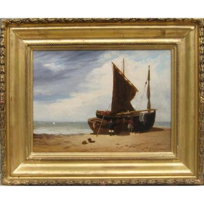 Roqueplan Camille (1803, 1855) Français- Marine
