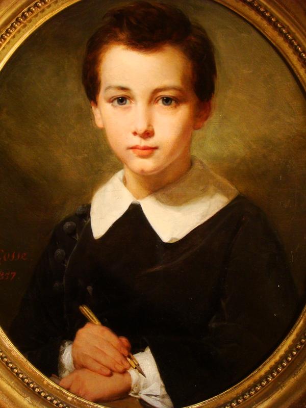 Tableau Portrait Enfant De Gosse