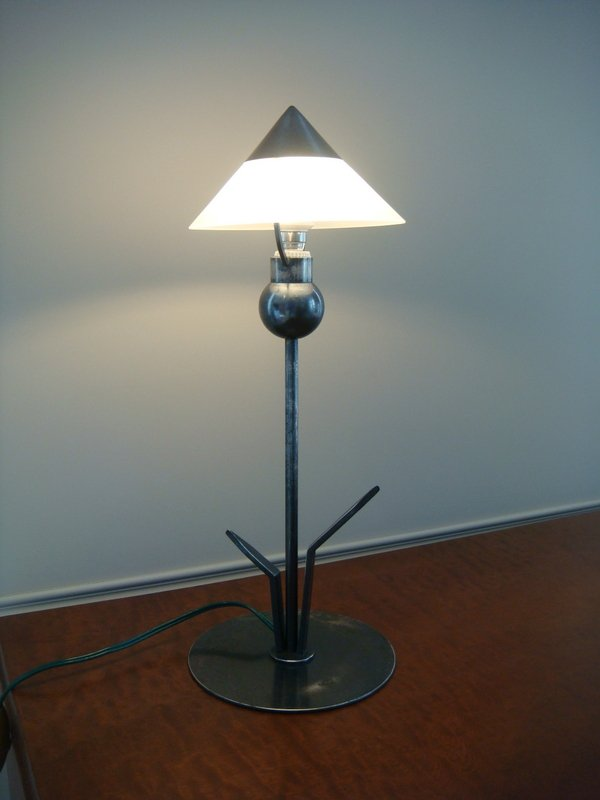 Small Flower Lamp - Period 1930 Marc Errol-photo-2