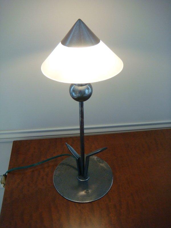Small Flower Lamp - Period 1930 Marc Errol-photo-3
