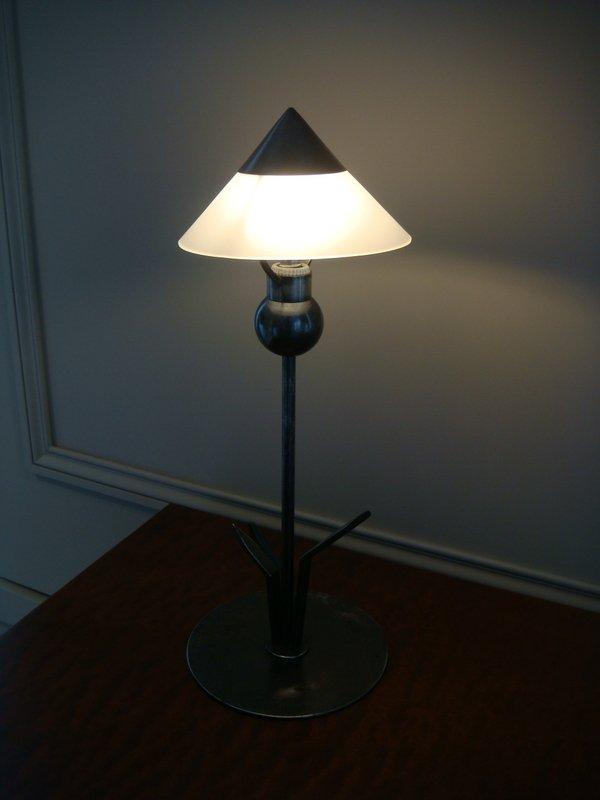 Small Flower Lamp - Period 1930 Marc Errol-photo-7