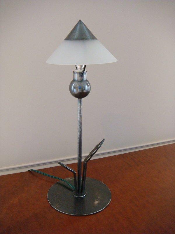Small Flower Lamp - Period 1930 Marc Errol-photo-8