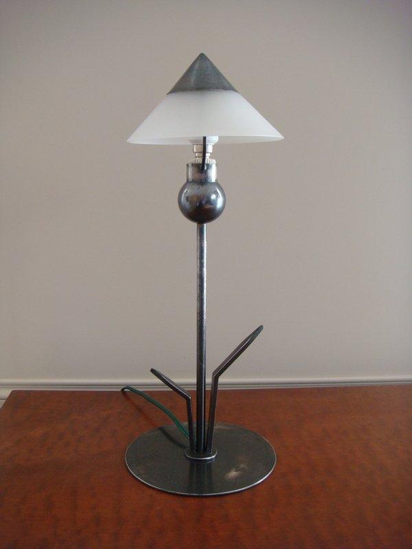 Small Flower Lamp - Period 1930 Marc Errol