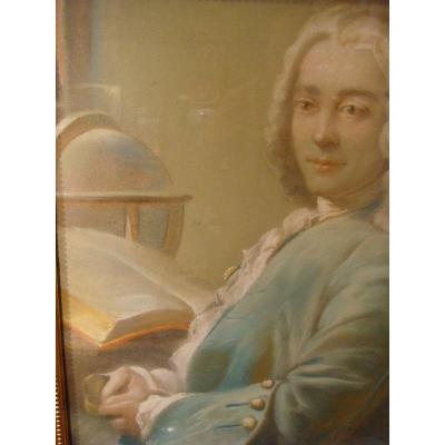 Portrait De Louis Duval De l'Epinoy - Pastel
