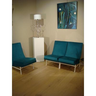 Suite Of Three Modular Armchair Chairs Arp Quariche