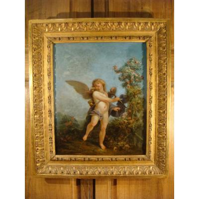Cupid Table - French School XVIII