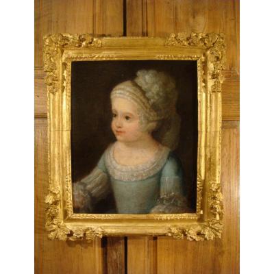 Tableau Portrait d'Enfant - Epoque Début XVIII ème