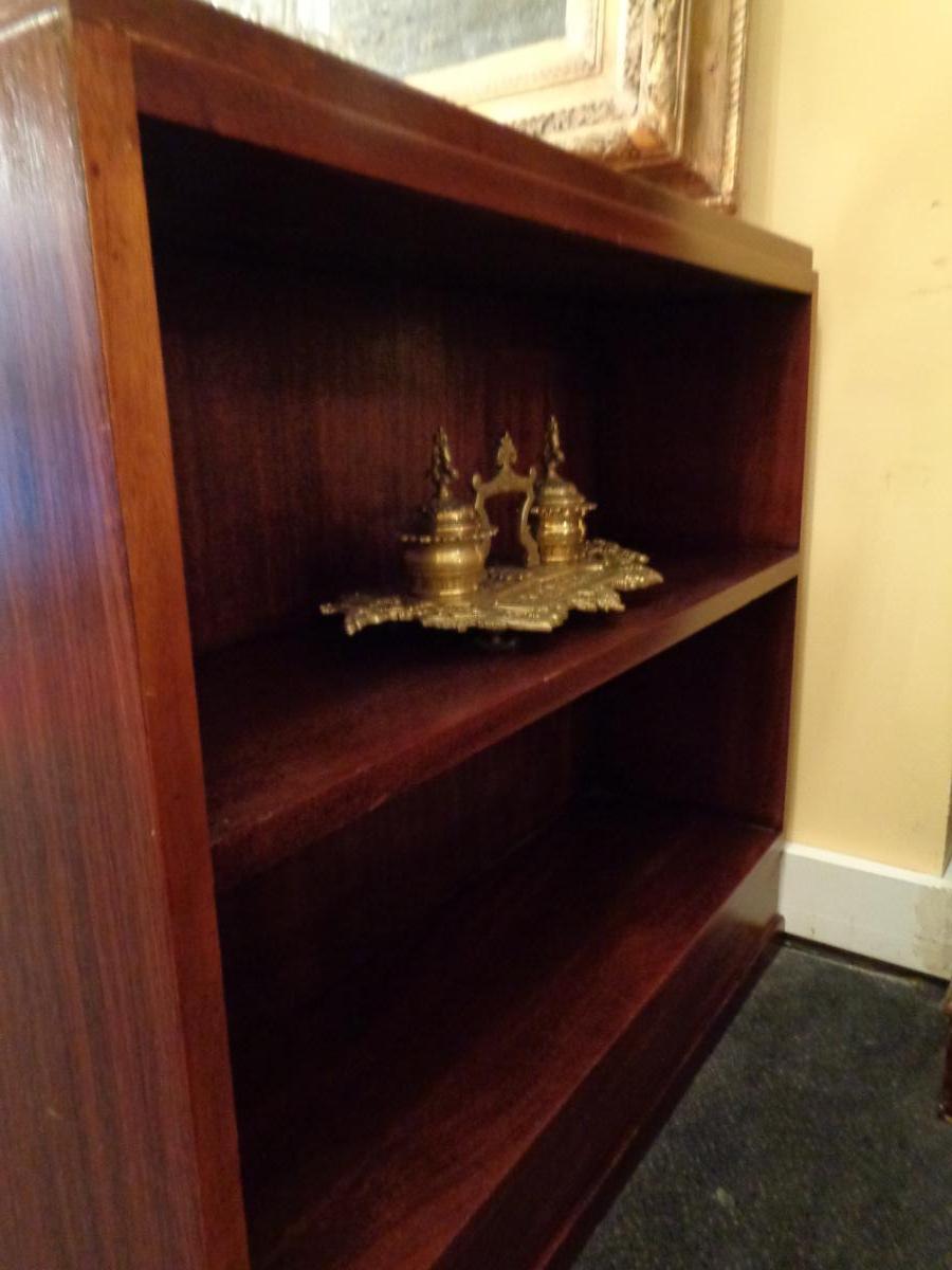 Mahogany Art Deco Period Desk-photo-4