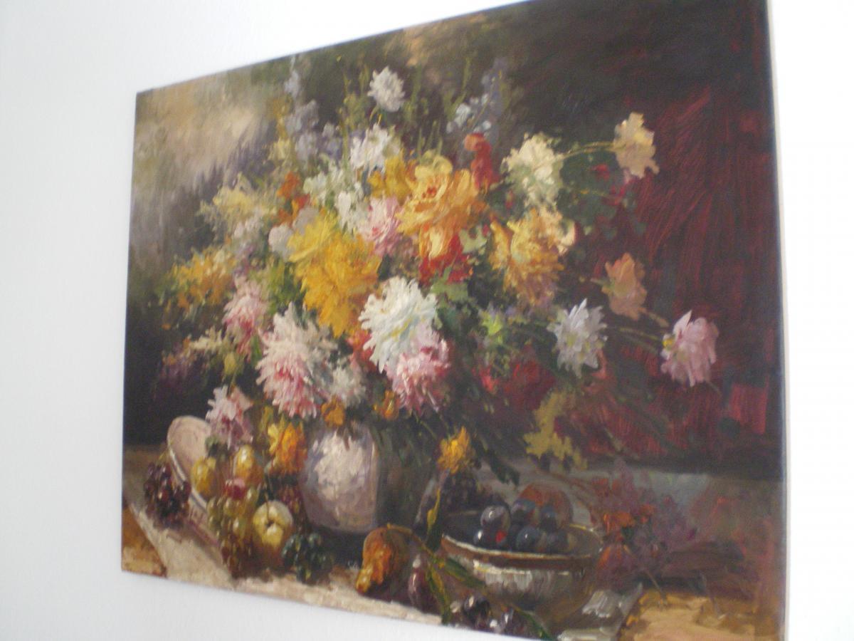 Grand Tableau De Fleurs-photo-2