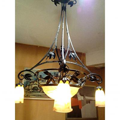 Chandelier Epoque 1900