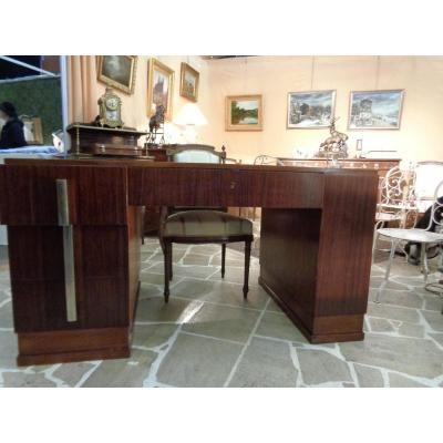 Mahogany Art Deco Period Desk