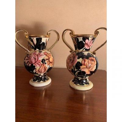Pair Of Vases Of Vallauris