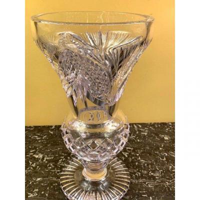 Vase En Cristal Vallerysthal