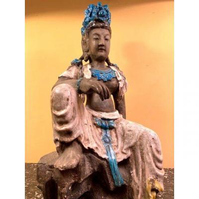Statue De Femme Asiatique