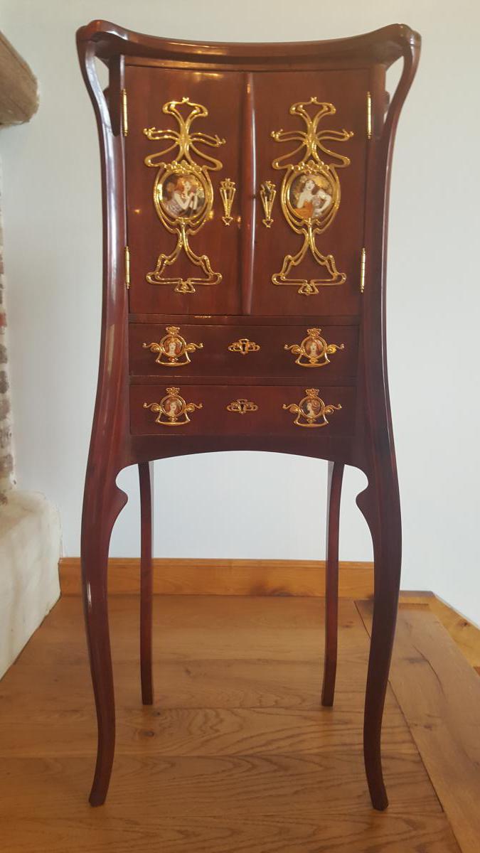 Meuble art nouveau cabinets - Art nouveau meuble ...