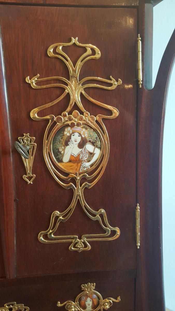 Meuble art nouveau cabinets - Meuble art nouveau ...