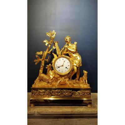 Empire Period Clock: Orpheus