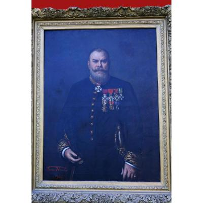 Officier de Marine 19ieme