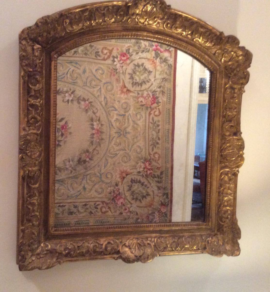 miroir en bois sculpt 233 et dor 233 d 233 poque louis xiv miroirs