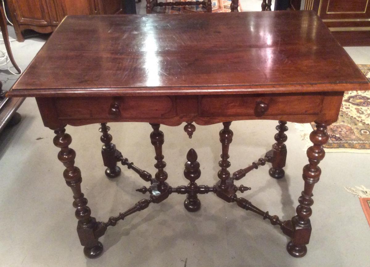 Table à écrire d'époque Louis XIII