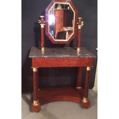Mahogany Dressing Table D Empire Period